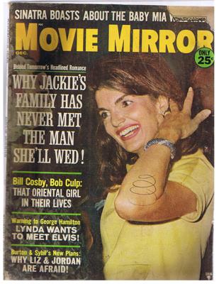 12-01-1966 Movie Mirror - Cover- Jackie Kennedy